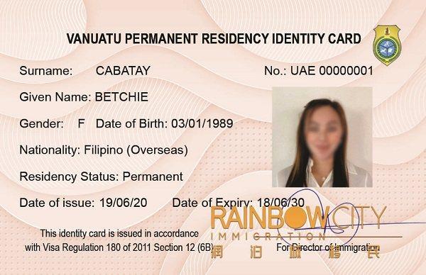 瓦努阿图移民,绿卡及护照一步到位
