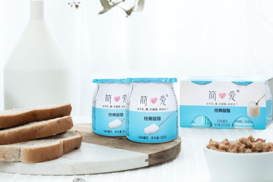 连续5年翻倍增长 简爱酸奶凭低温、无添加征服大市场