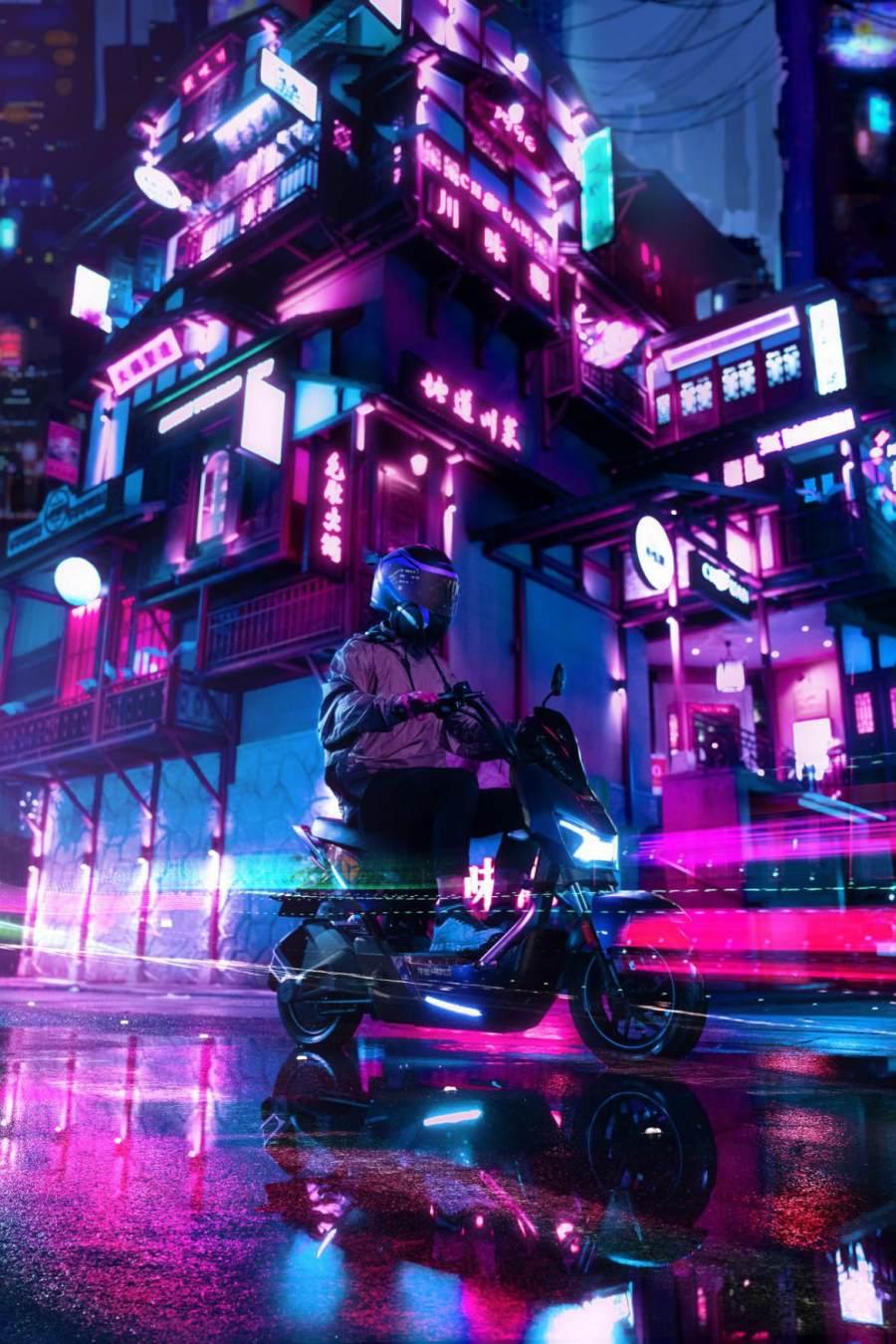 雅迪发布最炫焕装车招募令,冠智极光骑回家!