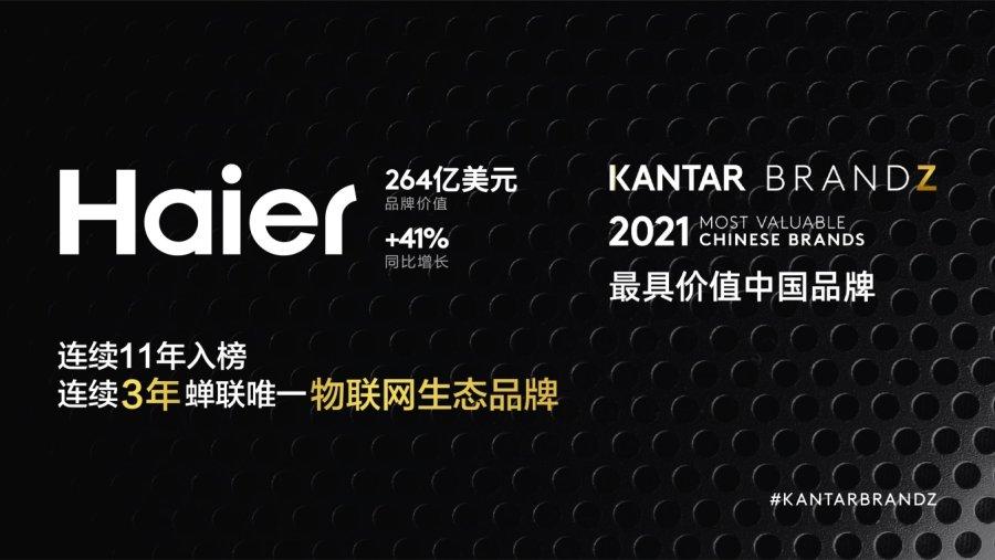 """海尔集团首席品牌官王梅艳:可持续品牌必须具备""""三性"""""""